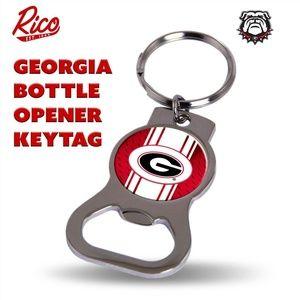 Georgia Bulldogs Bottle Opener/KeyTag